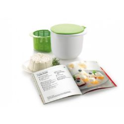 KIT CHEESE MAKER VERD + LLIBRE CATALA